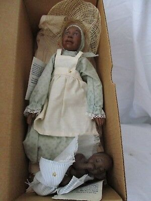 Daddy's Long Legs doll NIB Promotional Jane & Baby Jesse Karen Germany '94