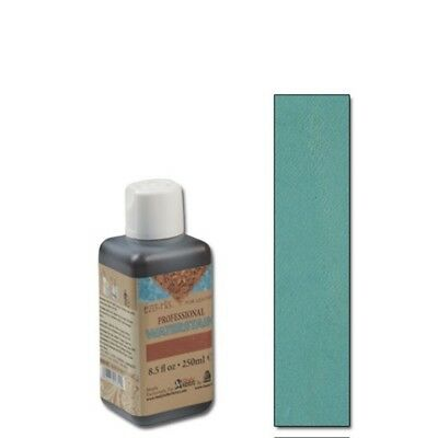 250ml Türkis Eco Leder Wasserfleck - Water Turquoise Leather Stain Flo