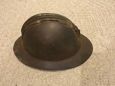 Original Belgian or French WWI/WWII Helmet - rare