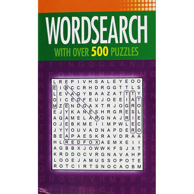 Wordsearch - With Over 500 Puzzles by Arcturus (Paperback), Books, Brand New