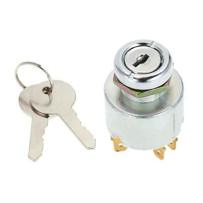 Universal Metal Ignition  On/Off Switch 2 Keys Fit 19mm Diameter Hole R0H1