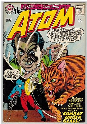The Atom #21 1965 Dc Silver Age!