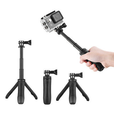 Mini Extension Selfie Stick Tripod Stand Hand Grip f/ GoPro Hero 3/5/4/3+3 SJCAM