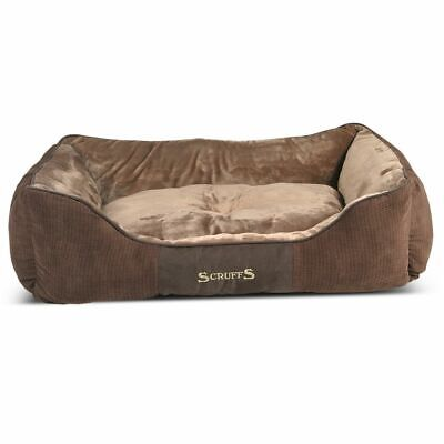 Scruffs & Tramps Lit d'animaux Chester Taille XL 90x70 cm Marron 1169