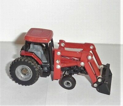 ERTL 1:64 Scale CASE Tractor with Front Loader Metal & Plastic USED