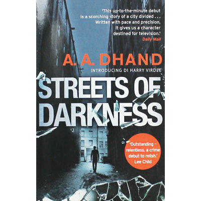 Streets of Darkness by A. A. Dhand (Paperback), Fiction Books, Brand New