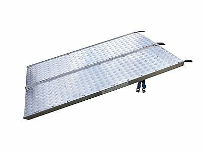 Van Loading Ramp - 6ft - 1200lbs SWL - 122cm wide - Light Industrial Use