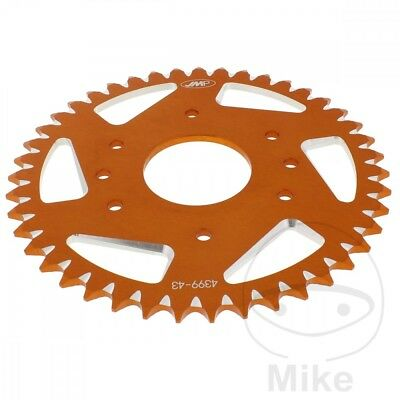 JMP Rear Sprocket 43T 520P Aluminium Orange KTM Duke 390 ABS 2017