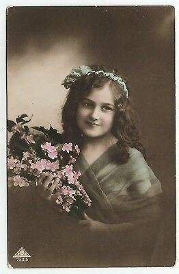 t children early old antique postcard greetings fashion