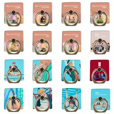 KPOP BTS LOVE YOURSELF 結 ANSWER 360° Ring Finger Grip Phone Stand Holder 1PC