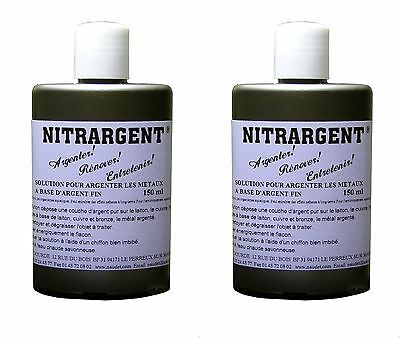 2 ARGENTURE A FROID NITRARGENT 150 ml