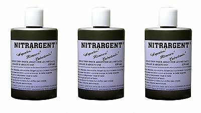3 ARGENTURE A FROID NITRARGENT 150 ml