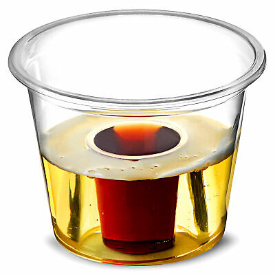 Bomb Shots Clear CE 3oz / 85ml CE at 25ml - Case of 1000 - Jager Bomb Cups