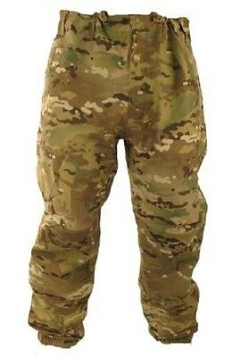 US Army OCP Multicam Level VI Goretex Gen III Wet Cold Weather Hose Small Short