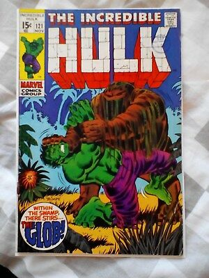 Incredible Hulk 121 (1969) , 1st appearance of the Glob