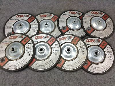 """1//4/"""" x 1.5/"""" Spindle Lot of 5 Norton 7//8 x 2/"""" Mounted Pointed Grinding Wheel"""