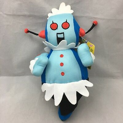 """Rosie The Jetsons Robot Maid Doll Cartoon NWT Sugar Loaf Prize Plush 12"""" Toy"""