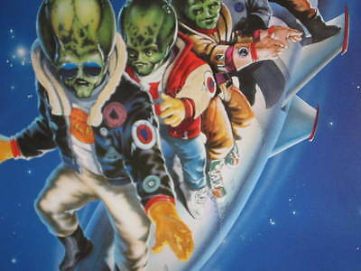 Spaced Invaders Promo Rolled Poster Douglas Barr Royal Dano Arinna Richards Usa