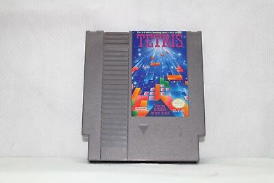 Tetris GAME ONLY Nintendo NES Original-Cleaned and Tested
