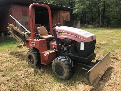 2005 Ditch Witch RT40 4x4 Trencher, 4-Way Blade, 42 HP Diesel, 1498 Hours