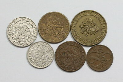 Poland Old Coins Useful Lot A83 Rzw26