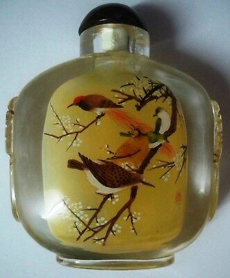 Chinese Antique/Vintage Inside Painted Glass Snuff Bottle