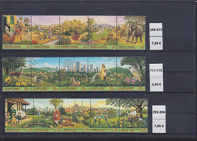 065273 Vögel Birds ... UNO United Nation Stamps Briefmarken ** MNH - Lot