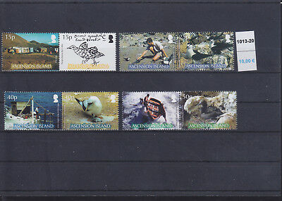 065339 Vögel Birds ... Ascension 1013-20 ** MNH Year 2007