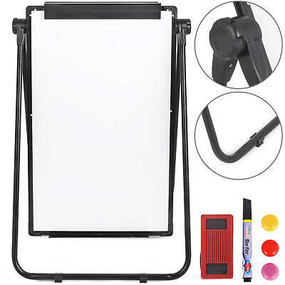 Double-sided Mobile WhiteBoard with Stand, 36*24 Magnetic Dry Erase Board