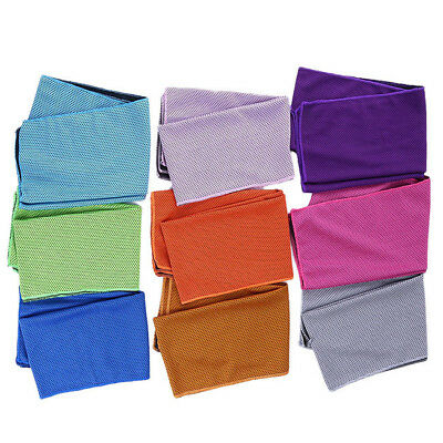 Running Cooling Chilly Towel Cold Ice Instant  Jogging Gym Sports Outdoor LG