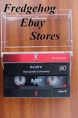 SUPER QUALITY SONY P5-90MP Video 8 / 8mm & Hi8 VIDEO CAMCORDER TAPE / CASSETTE