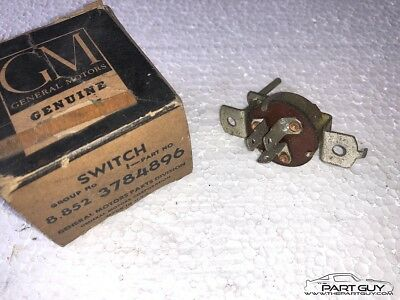 NOS 1960-61 Chevy Corvair HEATER FAN BLOWER SPEED CONTROL SWITCH New Old Stock