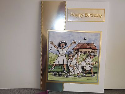 Bowls Birthday Card Personalised With Envelope 340 Picclick Uk