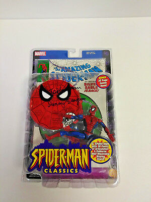 DANNY SEAGREN Spiderman The Electric Company SIGNED Marvel Classics Toy Figure