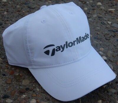3a0fa8b0576 NEW TaylorMade 2017 Performance Lite Adjustable Hat Cap White Grey OSFM