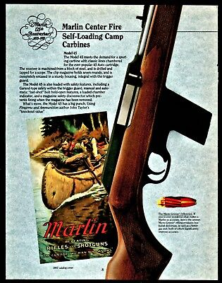 Marlin Model 9 Camp Carbine 9mm 9x19 Luger Owners Manual 539