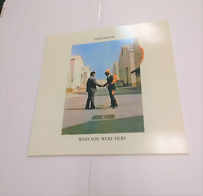 Pink Floyd Wish You Were Here Raro Verde Disco Disco de Vinilo Álbum