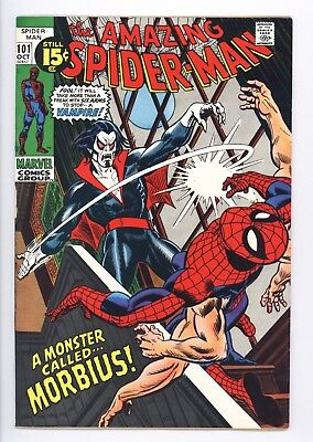 Amazing Spider-Man #101 Vol 1 Super High Grade 1st Appearance of Morbius