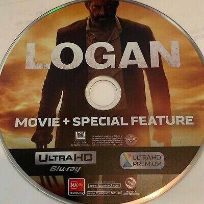 Logan (Blu-ray 1-DISC ONLY NO CASE NO ART EXCELLENT CONDITION SHIPS FAST