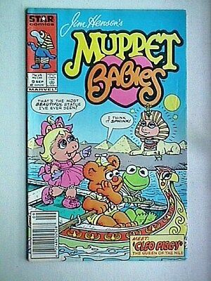 9 Muppet Babies Collectible Comic Book