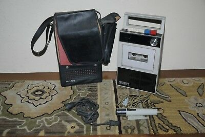 SONY TC 18 Portable Tape Recorder made in Japan AS IS
