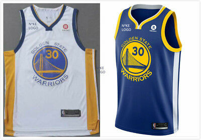 Nba Basketball Swingman Jersey Stephen Curry Golden State Warriors #30 Bnwt