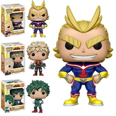 "Funko Pop My Hero Academia DEKU ALL MIGHT KATSUKI Vinyl Figure 4"" New in Box To"
