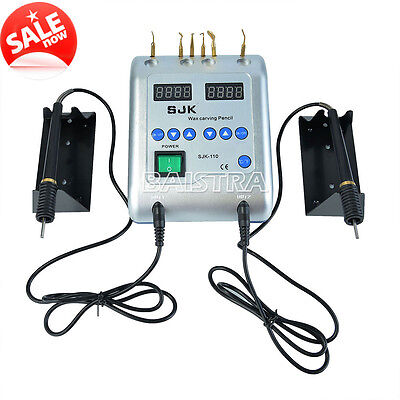 Dental Lab Electric Wax Waxer Carving Pen Pencil Carver with 6 Tips J28-3