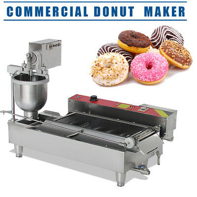 Commercial Electric Automatic Doughnut Donut Machine Donut Maker DHL Shipping