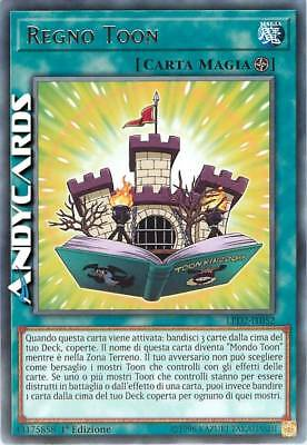 REGNO TOON (Toon Kingdom) • Rara • LED2 IT052 • Yugioh! • ANDYCARDS
