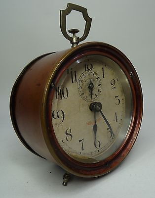 antique alarm clock - Mechanischer Wecker Tischuhr Junghans Repetition Uhr