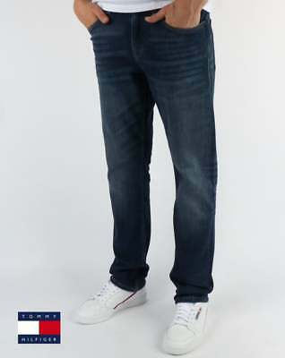 5fd1fc632 Tommy Hilfiger Jeans Tommy Hilfiger Straight Fit Ryan Jeans in Wooden Mid  Blue