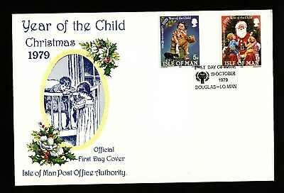 1979 Isle of Man, Christmas, First Day Cover