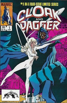 Cloak And Dagger Comic Issue 1 Bronze Age Limited Series First Print 1983 Mantlo